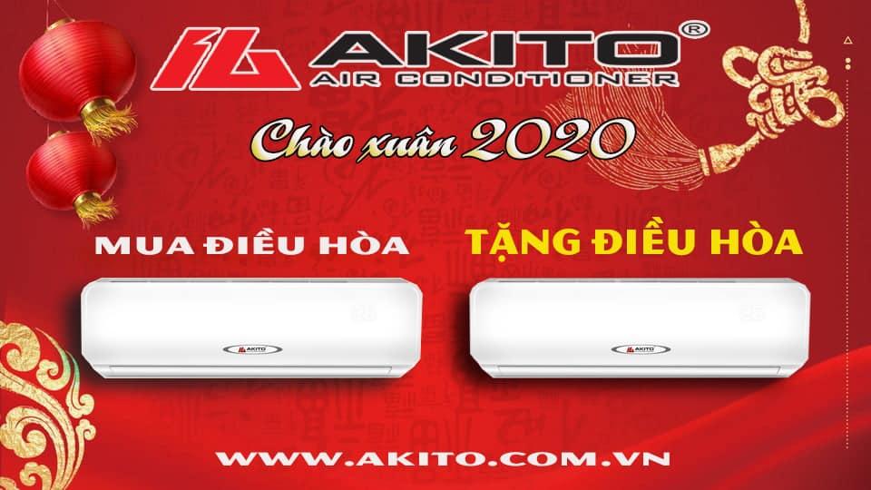 Chào Xuân 2020 cùng Điều hoà AKITO