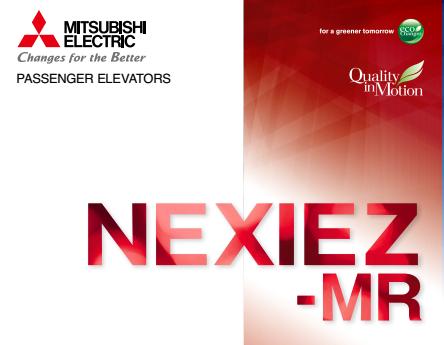Thang máy Mitsubishi có phòng máy